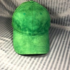 Unisex Forever 21 green suede hat